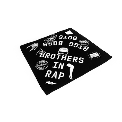Brothers in rap - scarf