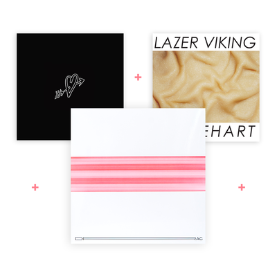 Viking pack - 3 LP (Drag, Flesh Cadillac, Radical Karaoke)