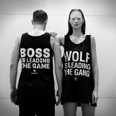 BB x Wolfgang - Boss is leading the game undershirt