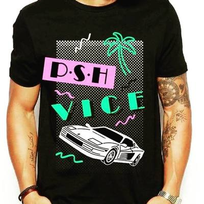 PSH VICE - t shirt 490,-