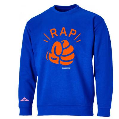 Rap blue - crewneck 990,-