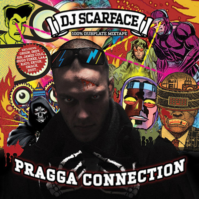 Dj Scarface-Pragga Connection CD+Tee